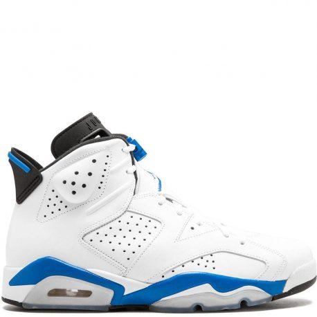 Air Jordan Nike AJ 6 VI Retro Sport Blue (2014) (384664-107)