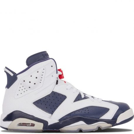 Air Jordan Nike AJ 6 VI Retro Olympic London (2012) (384664-130)