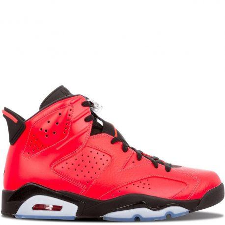 Air Jordan Nike AJ 6 VI Retro Infrared 23 (Toro) (384664-623)