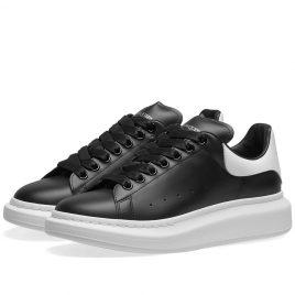 Alexander McQueen Heel Tab Wedge Sole Sneaker (553680WHGP5-1070)