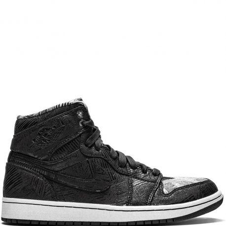 Air Jordan Nike AJ I 1 Retro 'BHM' (2015) (579591-010)