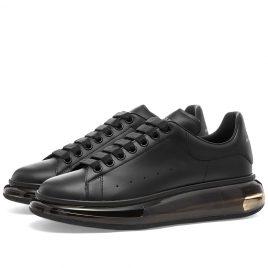 Alexander McQueen Air Bubble Wedge Sole Sneaker (604232WHX98-1000)