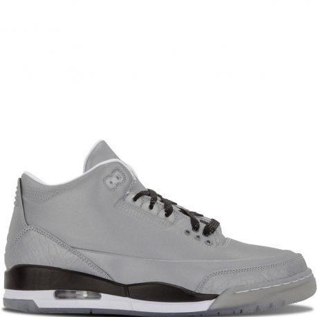 Air Jordan Nike AJ III 3 Retro 5Lab3 Silver (631603-003)