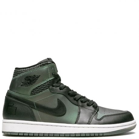 Air Jordan Nike AJ I 1 SB Craig Stecyk Black Silver (653532-001)