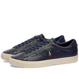 Polo Ralph Lauren Pony Player Vulcanized Leather Sneaker (816785024003)