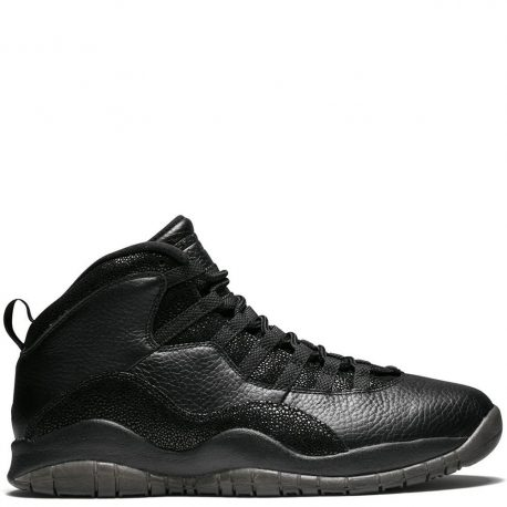 Air Jordan Nike AJ X 10 Retro Drake OVO Black (819955-030)