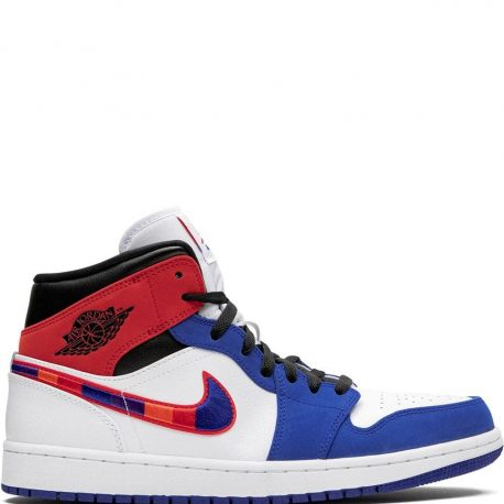 Air Jordan 1 Mid Embroidered Swoosh (2020) (852542-146)
