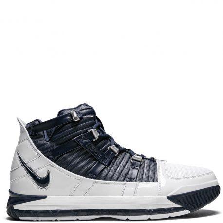 Nike Zoom LeBron 3 Navy Blue-Silver (AO2434-103)