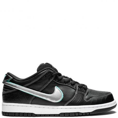 Nike SB x Diamond Supply Co. Dunk Low 'Black Diamond' (2018) (BV1310-001)