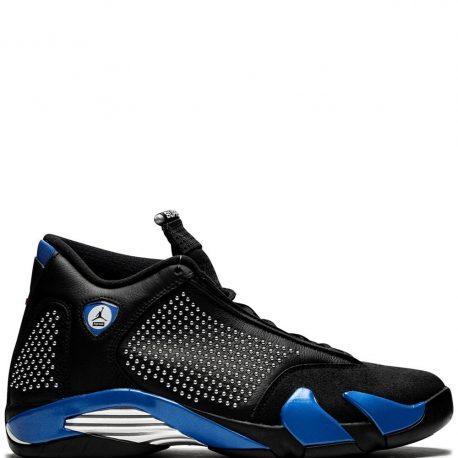 Air Jordan x Supreme Nike AJ XIV 14 Black (2019) (BV7630-004)