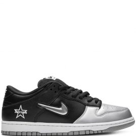 Nike SB x Supreme Dunk Low 'Metallic Silver' (2019) (CK3480-001)