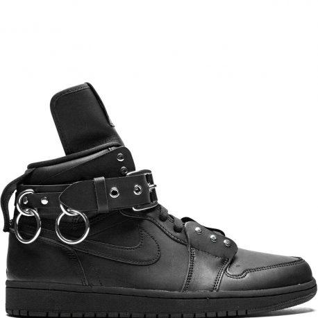 Air Jordan x COMME des Garcons CDG Nike AJ I 1 Black (2019) (CN5738-001)