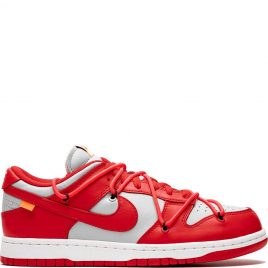 Nike x Off White Dunk Low 'University Red' (2019) (CT0856-600)