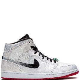 Air Jordan x CLOT Nike AJ I 1 Mid 'Fearless' (2019) (CU2804-100)
