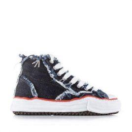 Nigel Cabourn x Maison Mihara Yasuhiro Shoes High 1 Wash Navy (NCMI-SS20-ACC-3-1wash-navy)
