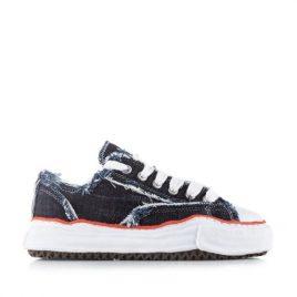 Nigel Cabourn x Maison Mihara Yasuhiro Shoes Low 1 Wash Navy (NCMI-SS20-ACC-4-1wash-navy)