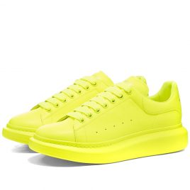 Alexander McQueen Fluo Wedge Sole Sneaker (553761W4LY1-7020)