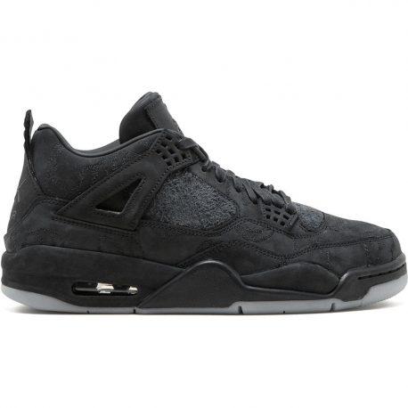 Air Jordan x Kaws Nike AJ IV 4 Retro Black (2017) (930155-001)