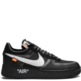 Nike x Off White Air Force 1 Low Black (2018) (AO4606-001)