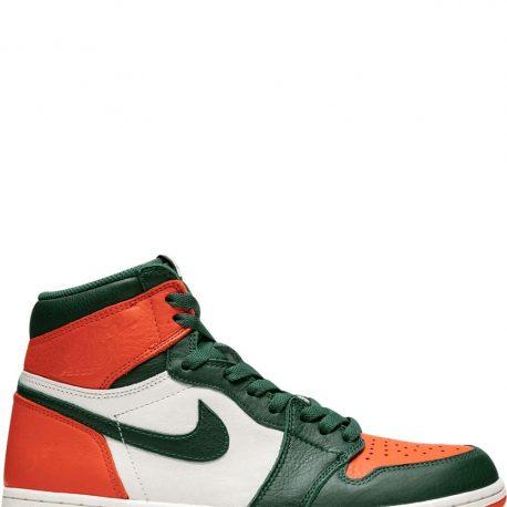 Air Jordan x SoleFly Nike AJ I 1 High OG 'Miami Art Basel' Sail (AV3905-138)