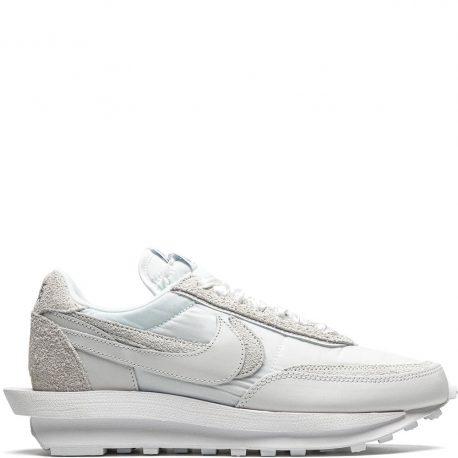 Nike x Sacai LDWaffle 'White Nylon' (2020) (BV0073-101)