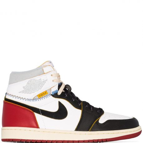 Air Jordan x Union LA Nike AJ I 1 Retro High OG Varsity Red (BV1300-106)