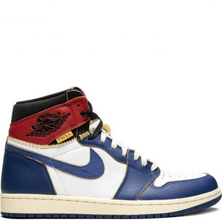 Air Jordan x Union LA Nike AJ I 1 Retro High OG Storm Blue (BV1300-146)