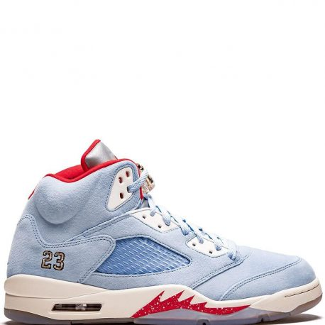 Air Jordan x Trophy Room Nike AJ V 5 Retro 'Ice Blue' (2019) (CI1899-400)