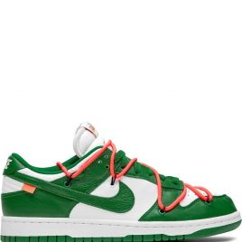 Nike x Off White Dunk Low 'Pine Green' (2019) (CT0856-100)