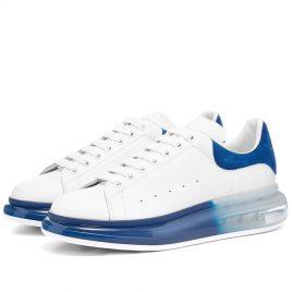Alexander McQueen Airsole Bi-Colour Wedge Sneaker (604232WHX9V-9098)