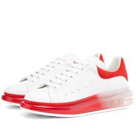 Alexander McQueen Airsole Bi-Colour Wedge Sneaker (604232WHX9V-9676)