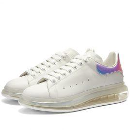 Alexander McQueen Airsole Holographic Wedge Sneaker (610812WHXM2-9071)