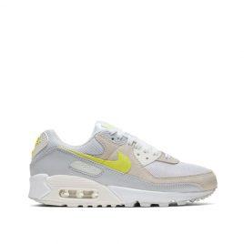 Nike WMNS Air Max 90 (Weiß / Beige / Gelb) (CW2650-100)