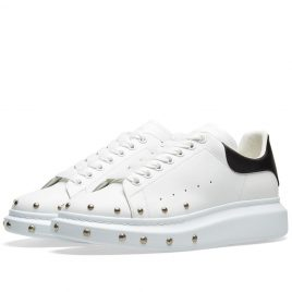 Alexander McQueen Front Stud Wedge Sole Sneaker (553773WHGP5-9061)
