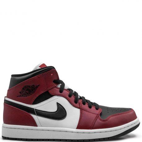 Air Jordan 1 Mid 'Chicago Black Toe' (2020) (554724-069)