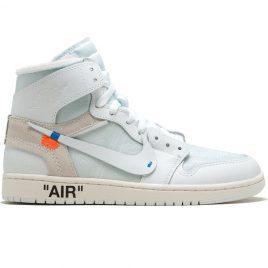 Nike X OffWhite  Air Jordan 1 x OFFWHITE NRG (AQ0818-100)