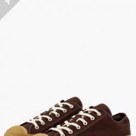 Pre-Order | Merino Vulcanized Sole Canvas Shoe Chocolate (SN-608-chocolate)