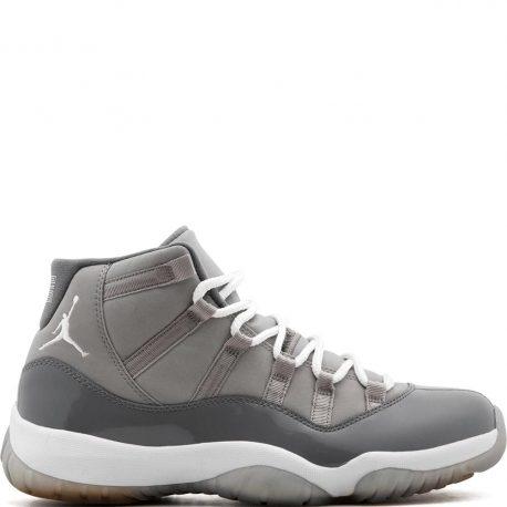 Air Jordan Nike AJ XI 11 Retro Cool Grey (2010) (378037-001)