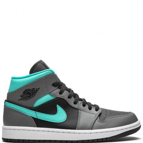Air Jordan 1 Mid Grey Aqua (2020) (554724-063)