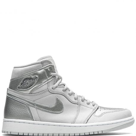 Air Jordan 1 Retro High CO.JP 'Metallic Silver' (2020) (DC1788-029)