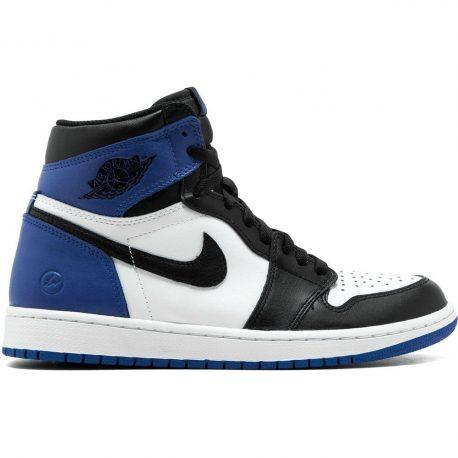 Air Jordan Nike AJ I 1 Retro Royal Fragment (2015) (716371-040)