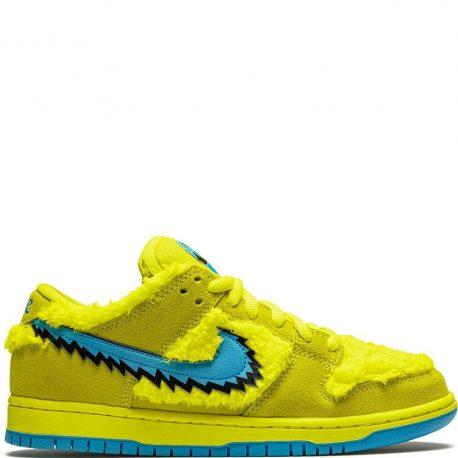 Nike SB Dunk Low x Grateful Dead Bears Yellow (2020) (CJ5378-700)