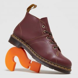 Dr. Martens Church Leather Monkey Boots Women's (16054601)