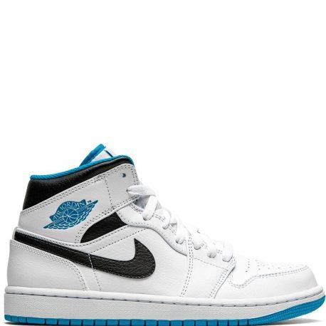 Air Jordan 1 Mid Laser Blue (2020) (554724-141)