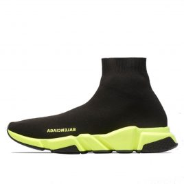 Balenciaga Speed Trainer Black Yellow (2019) (567042W05G01000)