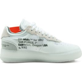 Nike x Off White Air Force 1 Low Virgil Abloh 'The 10 Ten' (AO4606-100)