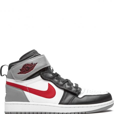 Air Jordan 1 Flyease Black Particle Grey Gym Red (2020) (CQ3835-002)