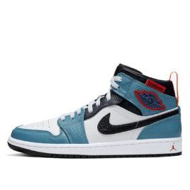 Air Jordan x Facetasm Nike AJ I 1 Mid 'Fearless' (2019) (CU2802-100)