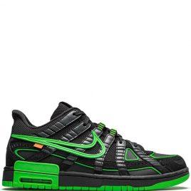 Nike x Air Rubber Dunk Off-White Green Strike (2020) (CU6015-001)