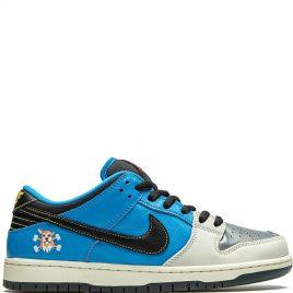 Nike SB x Instant Skateboards Dunk Low Black Blue (2020) (CZ5128-400)